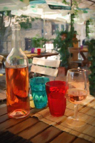 """Liquid Lunch in Goult"" by Margo Millure (www.margomillurephotography.com)"