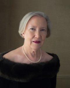 heirloom portrait of elegant southern lady