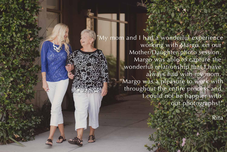 testimonial, margo millure photography