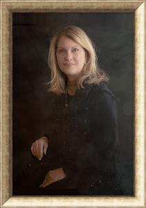 classic framed portrait