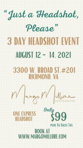 headshot event richmond va